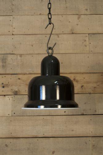 Bauhaus Style Enameled Shades