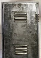 Polished Steel Locker