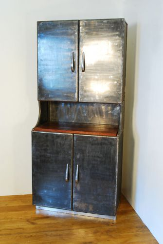 Polished Steel Dresser