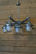 Original Industrial Chandelier