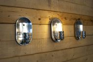 Industrial wall sconces