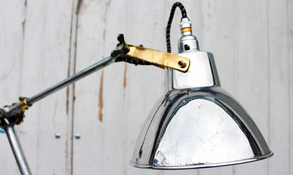 industrial and vintage lighting